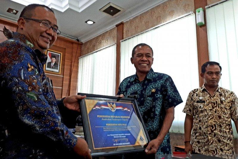 Raih WTP lima tahun berturut-turut, Pemkot Palu dapat penghargaan