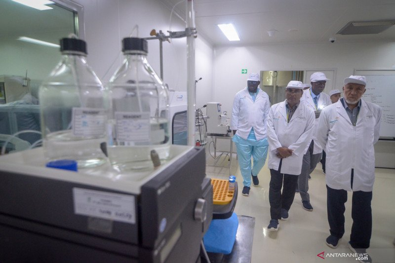 Delegasi negara anggota OKI tinjau laboratorium Bio Farma