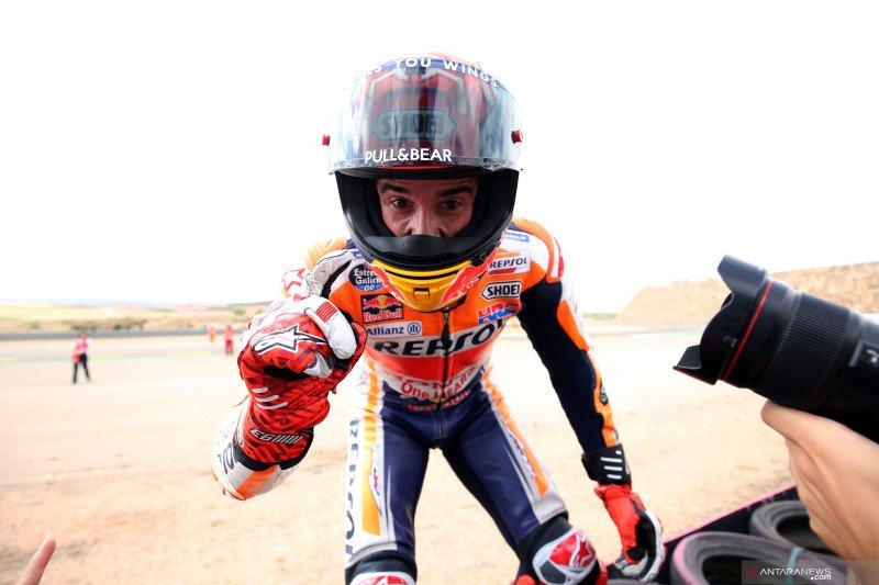 Marquez alami kecelakaan parah di Sirkuit Buriram