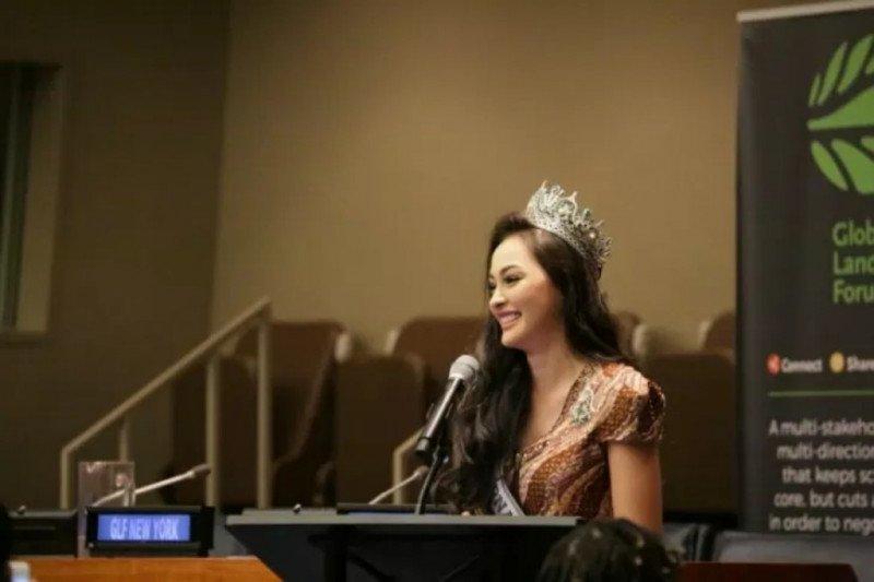 Puteri Indonesia bicara lingkungan di PBB