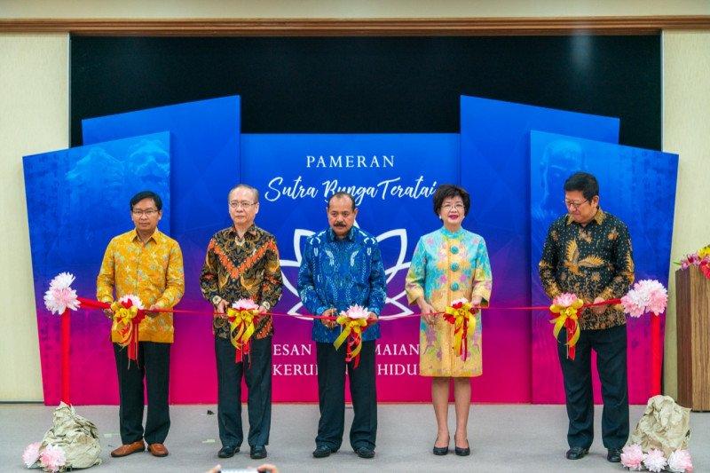 Pameran Sutra Bunga Teratai promosikan semangat perdamaian