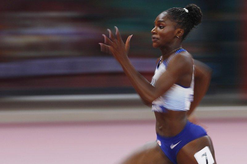 Dina Asher-Smith raih emas sprint 200m putri