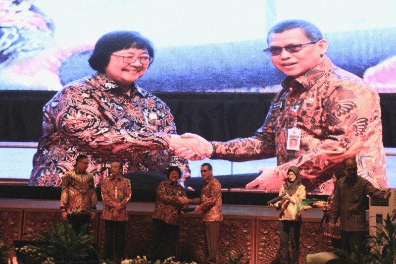Mirna terima penghargaan Proklim dari Kementerian LHK