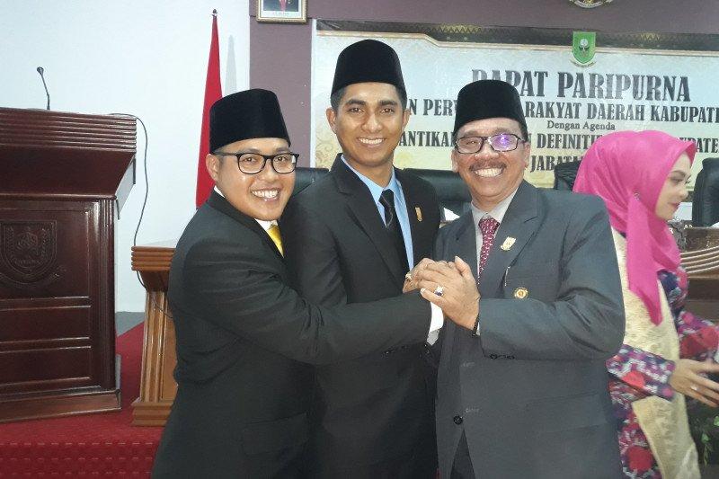Andes Putra resmi menjabat Ketua DPRD Natuna