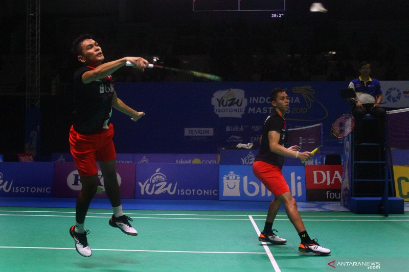 Fajar/Rian gagal ke perempat final Fuzhou China Open 2019