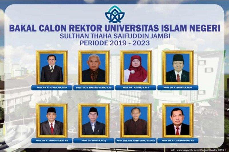 UIN Jambi usulkan delapan calon rektor ke Kemenag