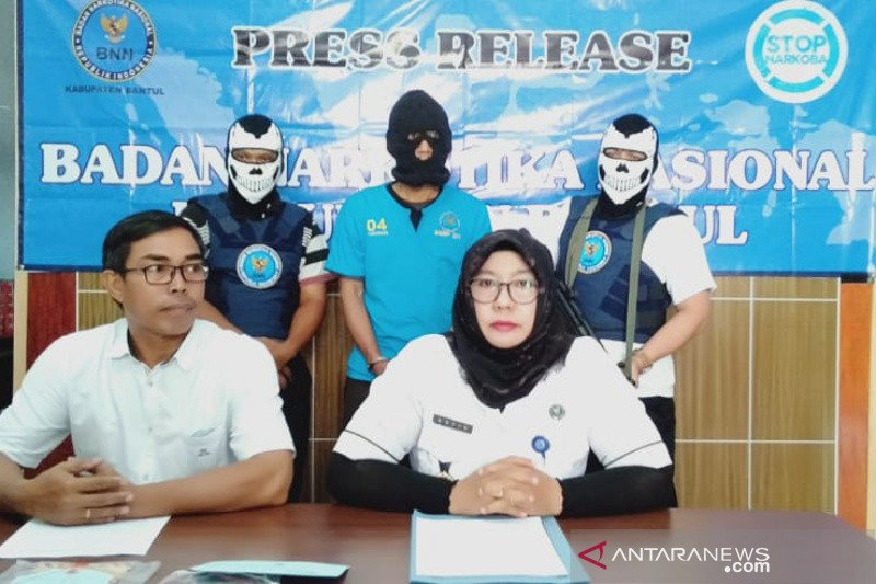 BNN Kabupaten Bantul tangkap pengedar narkotika