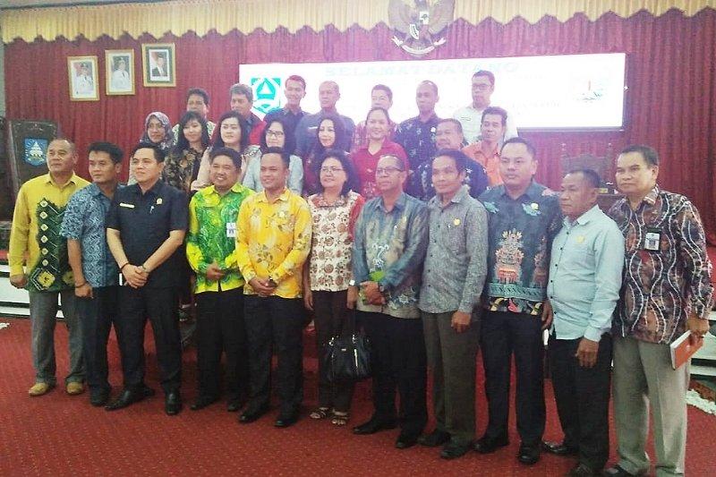 DPRD Barito Timur studi komparasi ke DPRD HSS dan Banjarmasin