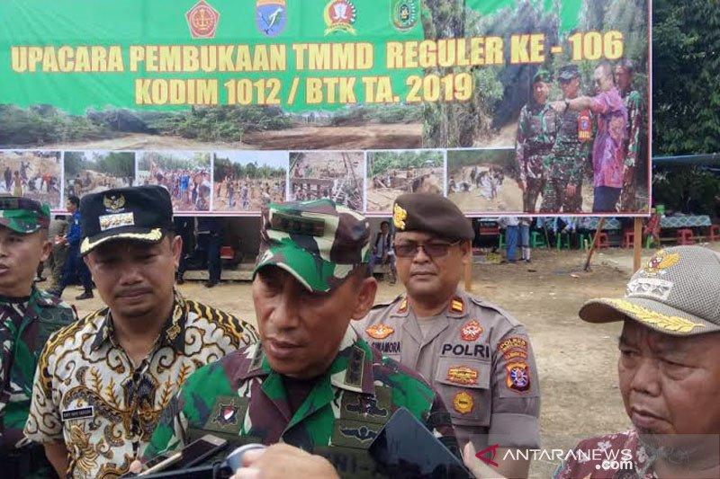 Danrem 102: Tujuan TMMD sukseskan program pemerintah