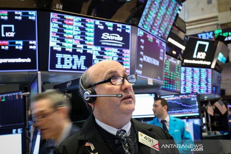 Wall Street menguat di tengah optimisme akan perbaikan perdagangan