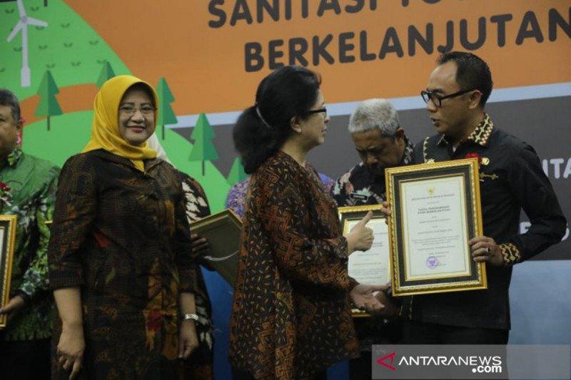 Kabupaten Way kanan satu-satunya daerah di Lampung peraih penghargaan STBM