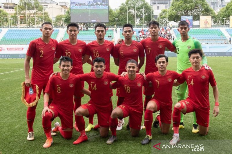 Indonesia segrup  Thailand dan Vietnam di SEA Games 2019