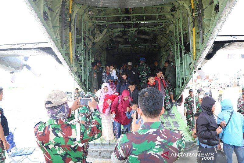 11.646 orang tinggalkan Wamena Kabupaten Jayawijaya, Papua pasca kerusuhan