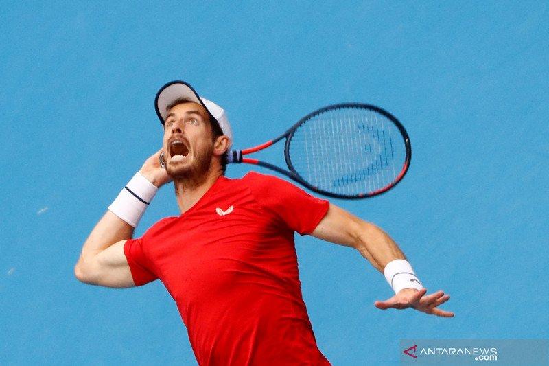 Murray tantang Fognini di babak kedua Shanghai Masters