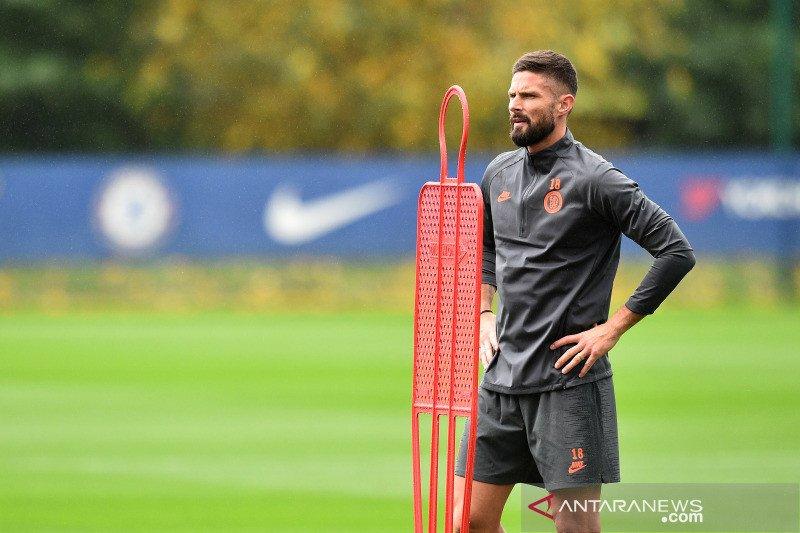 Pelatih Prancis kirim sinyal minta Chelsea lebih banyak mainkan Giroud