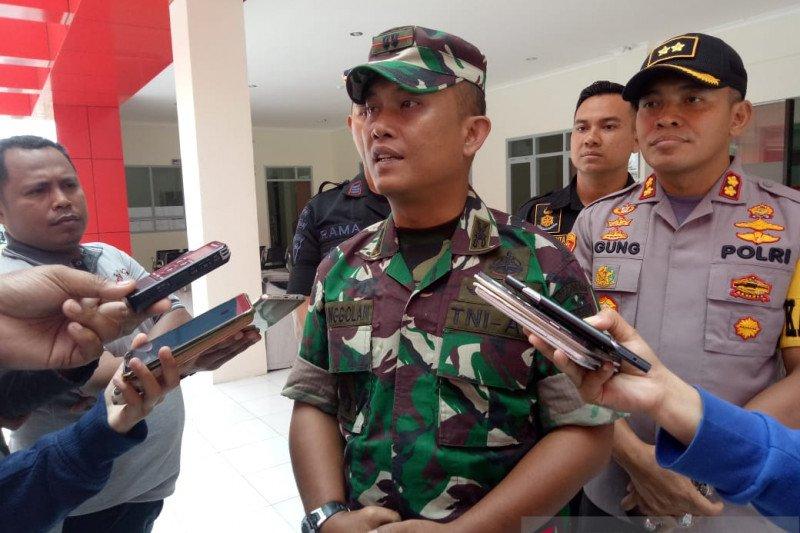 Dandim: TNI siap bantu kepolisian amankan Mimika dari gangguan KKSB