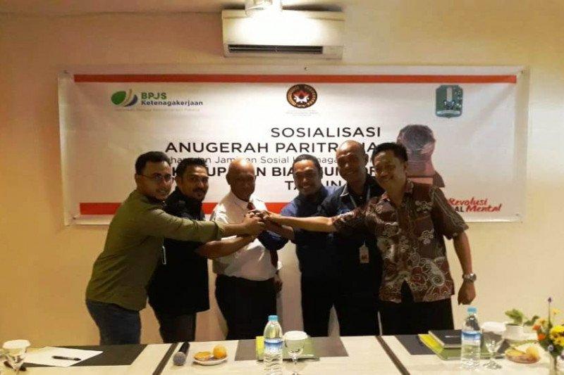 Enam kabupaten di Papua masuk nominasi penerima penghargaan Paritrana BPJS-TK
