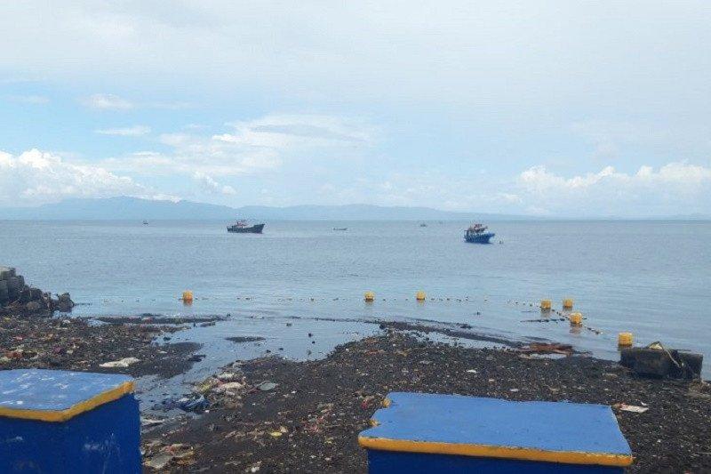 PUPR Ternate bangun resapan air untuk antisipasi tumpukkan sampah terbawa ke laut