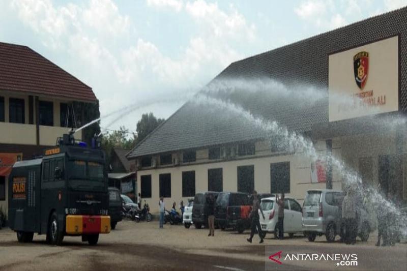 """Polres Boyolali tambah kekuatan kendaraan """"water cannon"""" dari Mabes Polri"""