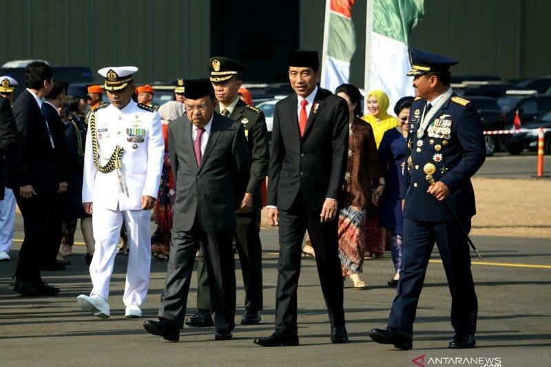 Jokowi lauds TNI's achievements