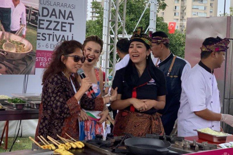 Juru masak Indonesia meriahkan festival kuliner di Turki