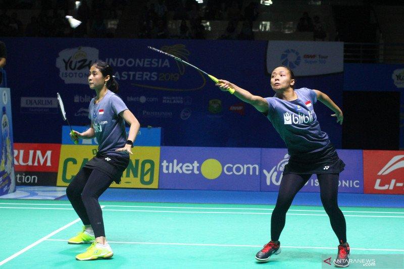"""Dua pasangan ganda putri Indonesia """"perang saudara"""" di Macau Open"""