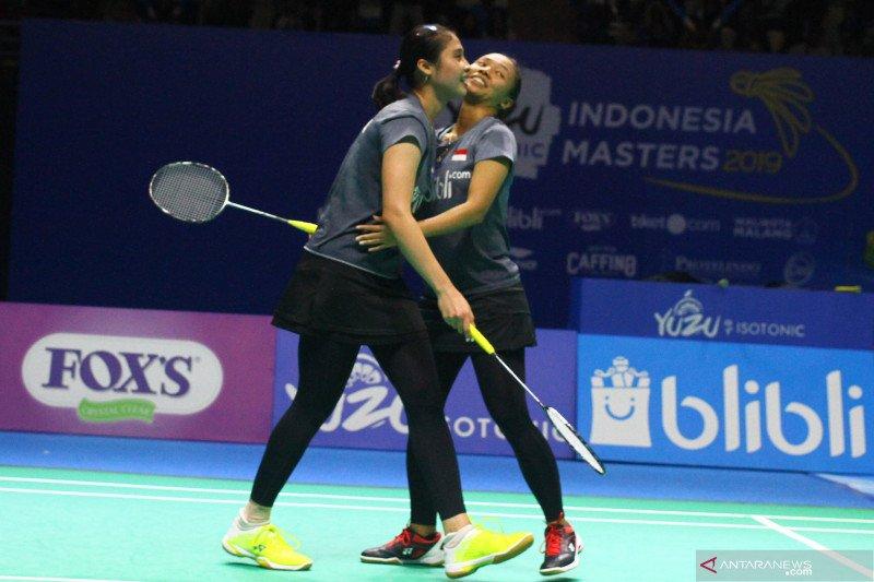 Tiga wakil Indonesia masuk final Indonesia Masters 2019