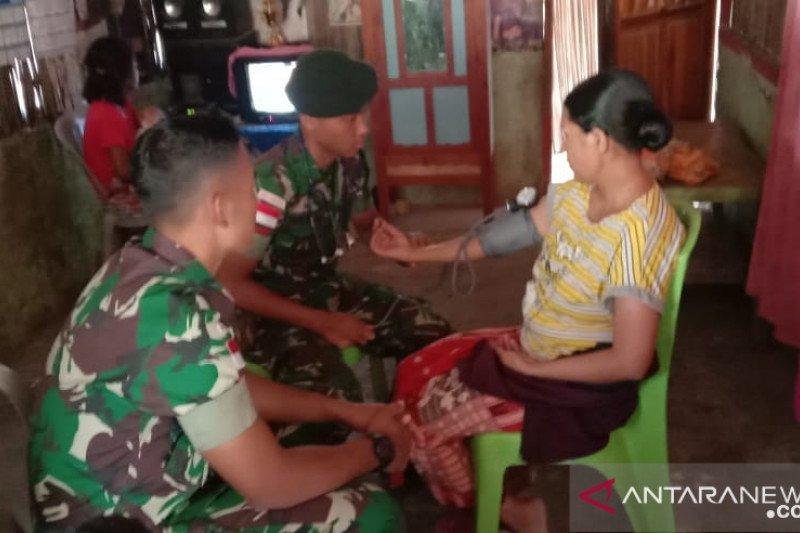 Satgas Pamtas RI-Timor Leste gelar pengobatan gratis warga perbatasan