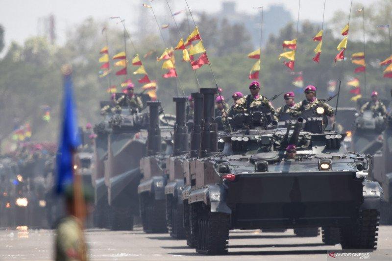 Perayaan HUT ke-74 TNI