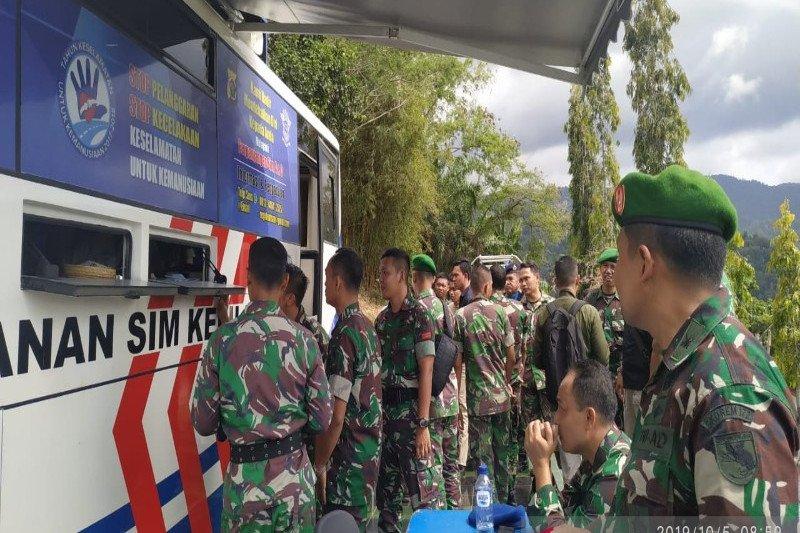 Polda Papua gratiskan pembuatan SIM untuk anggota TNI