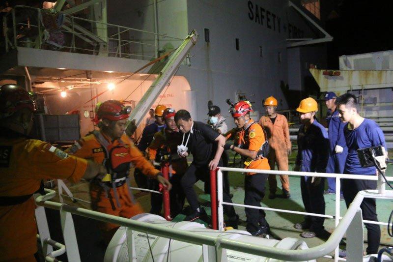 SAR evakuasi ABK kargo berbendera Panama warga China