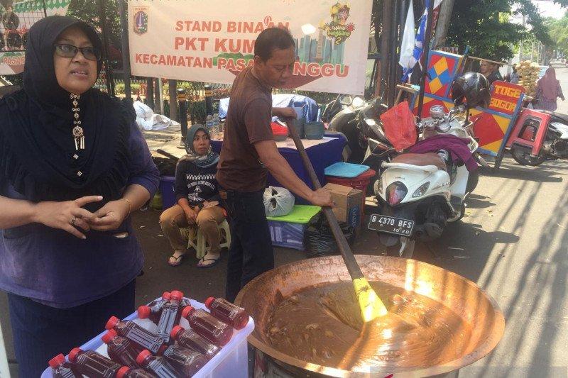 Aneka kuliner khas Betawi hadir di Festival Bongsang