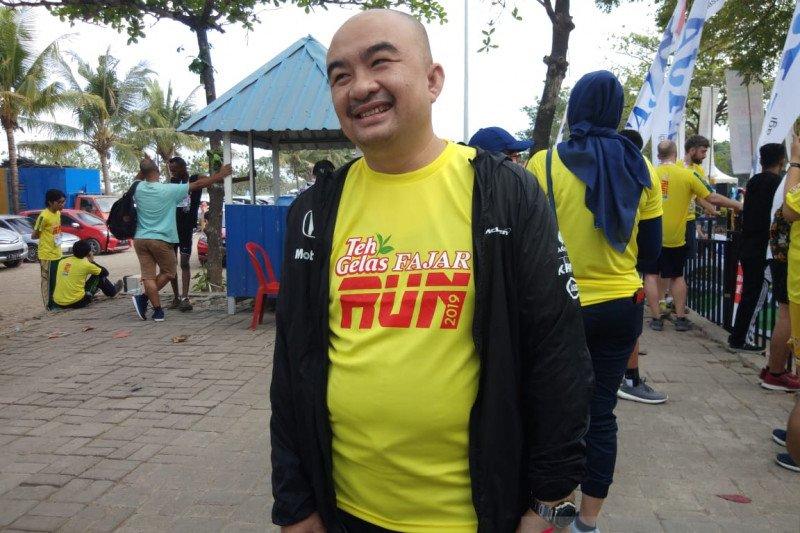 Berlari sambil kampanyekan hidup sehat dan promosi potensi wisata