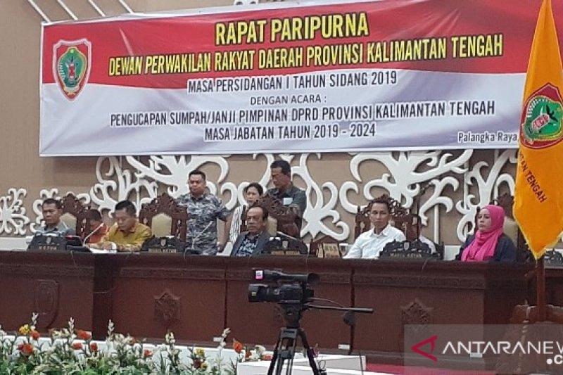 Setwan gelar gladi bersih pimpinan DPRD Kalteng