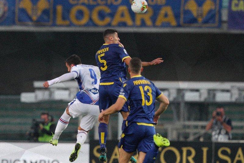 Verona raih kemenangan kedua, Sampdoria terpuruk