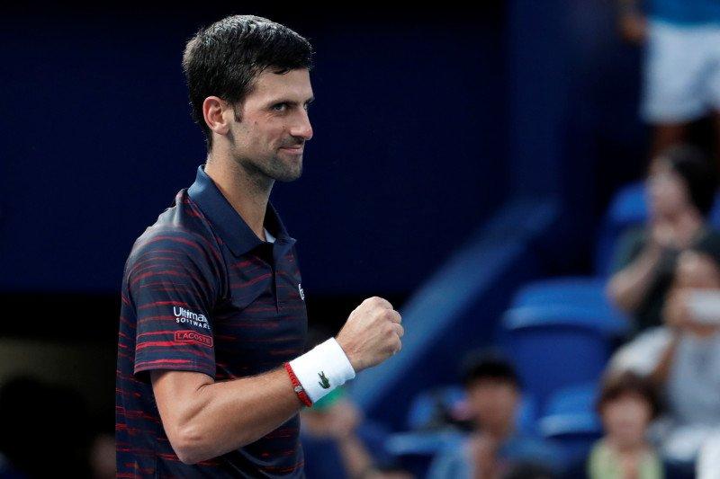 Novak Djokovic menangi turnamen pertama usai mundur di US Open