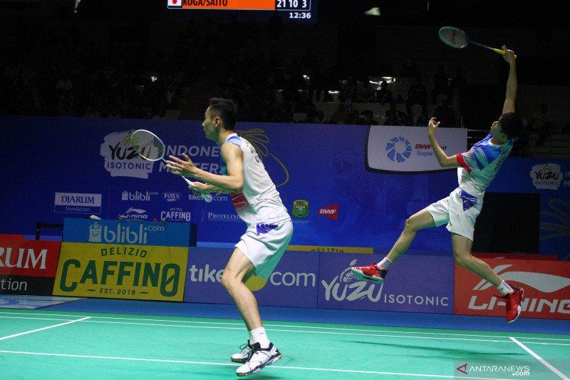 Pasangan China juara ganda putra Indonesia Masters
