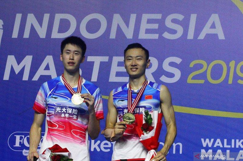 China borong empat gelar di turnamen Indonesia Masters 2019