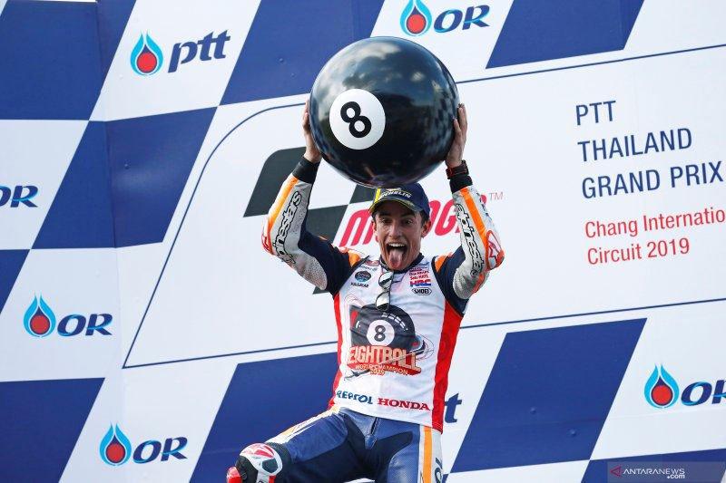 Inilah daftar juara dunia MotoGP sepuluh tahun terakhir