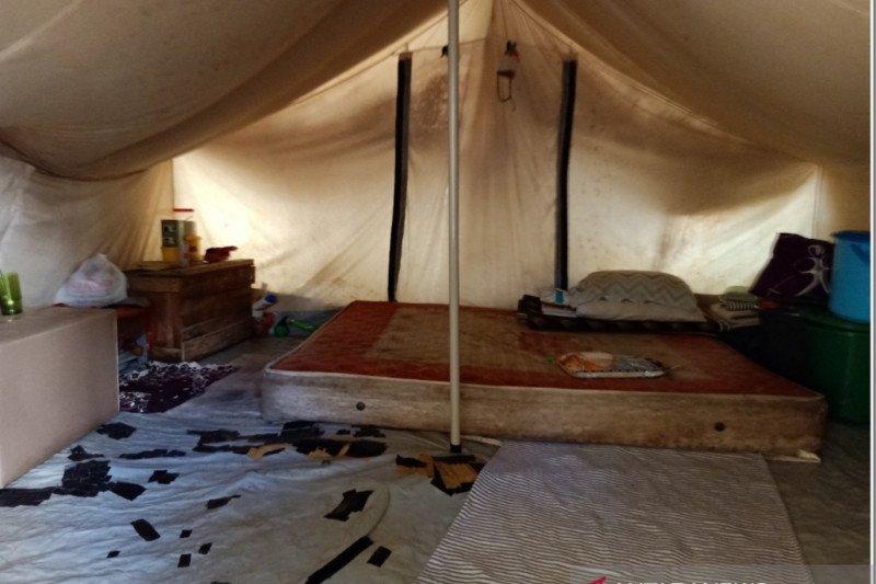 Ratusan KK penyintas bencana Palu masih hidup di tenda pengungsian