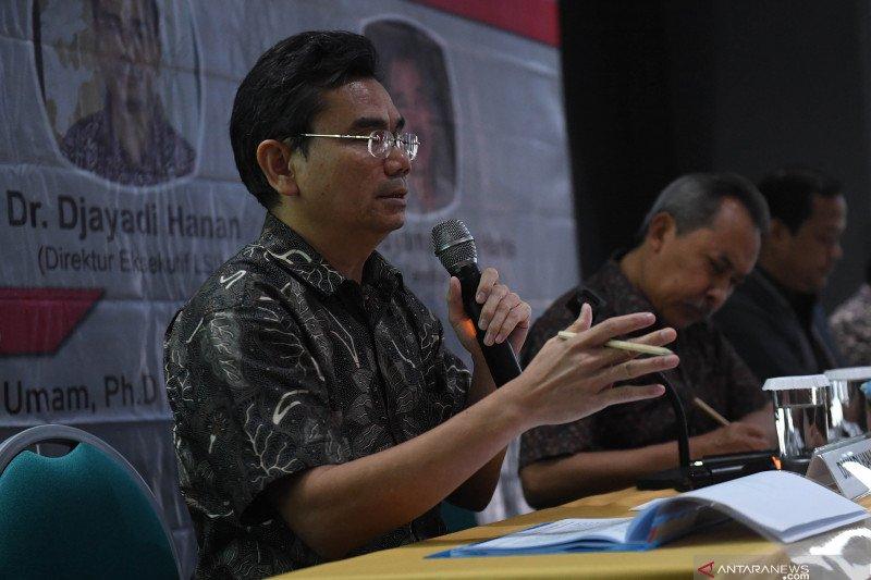 LSI sebut Prabowo, Ganjar, Anies tiga nama teratas calon presiden