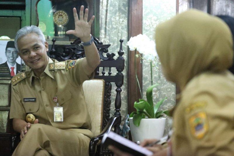 Picu investasi, Ganjar minta kabupaten/kota segera tuntaskan Perda RTRW