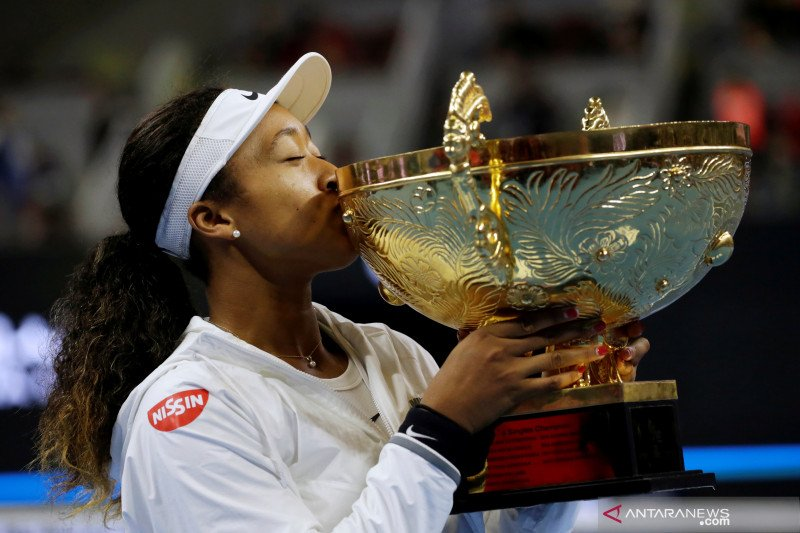 Naomi Osaka juara China Open usai taklukkan Barty