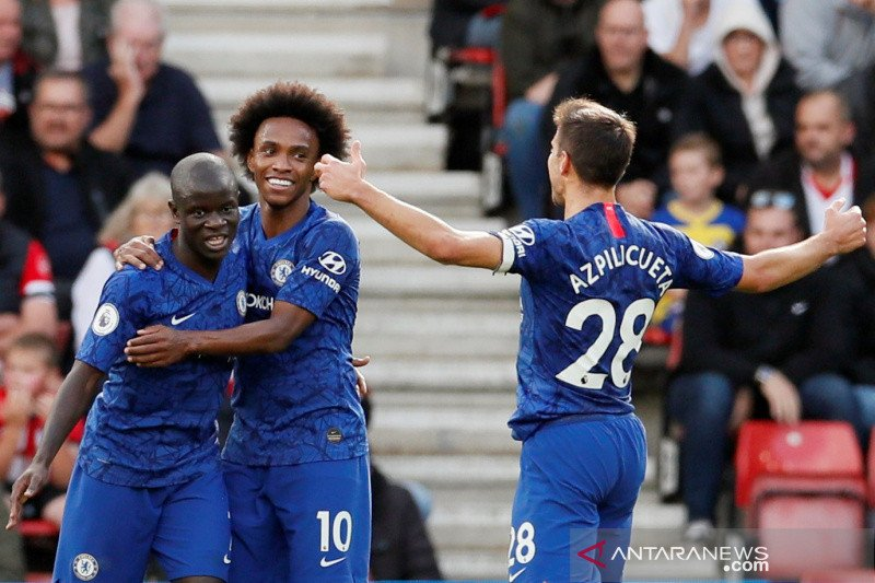Chelsea raih kemenangan dengan mudah