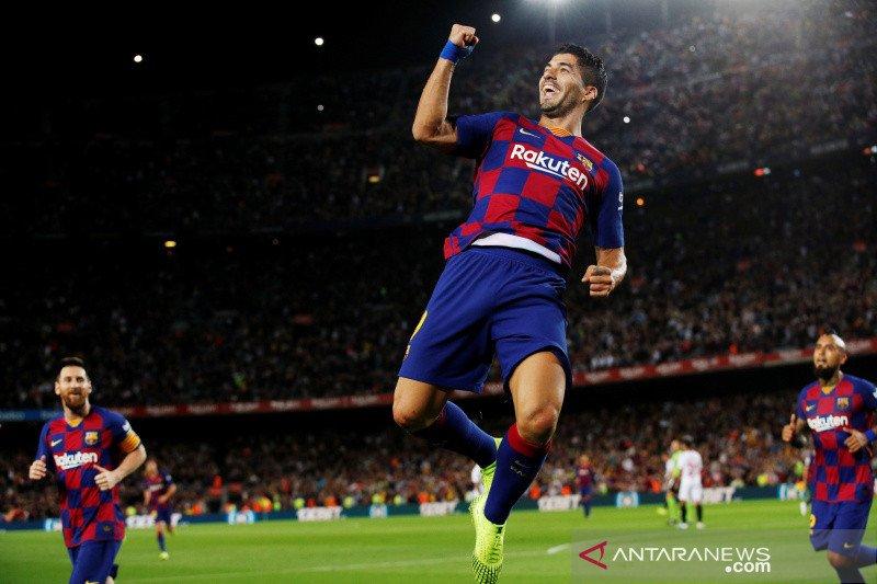 Hasil dan klasemen Liga Spanyol : Barcelona mulai buntuti Real Madrid