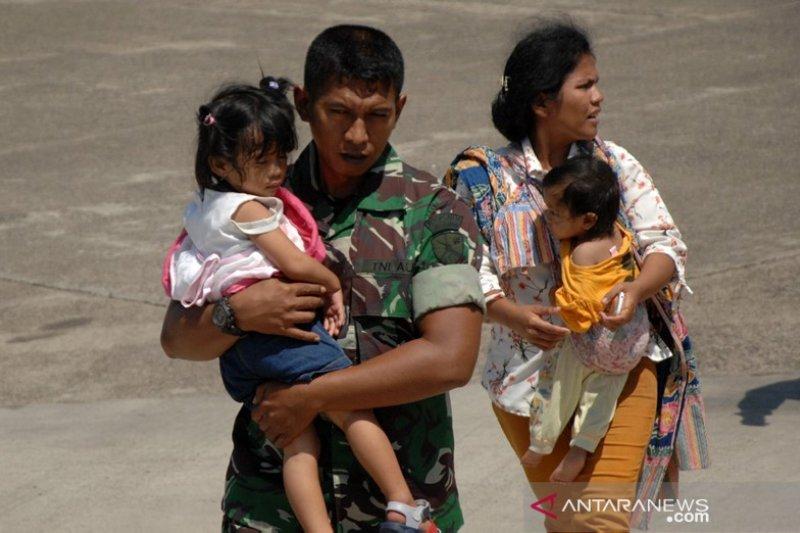 Pengungsi konflik Wamena