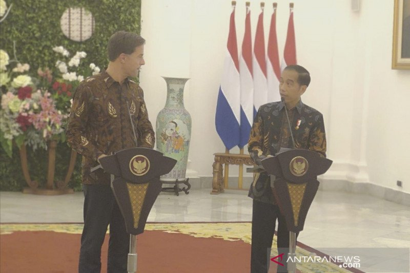 Jokowi lauds RI-Netherlands cooperation over sustainable palm oil