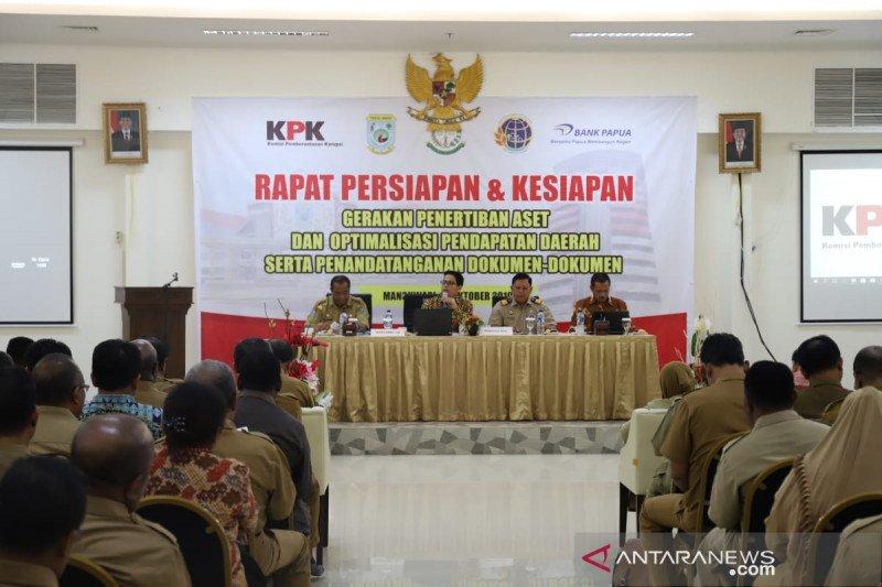 KPK masih kawal penertiban aset Pemprov Papua Barat