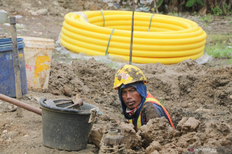 Jaringan gas di Banggai sasar 4.000 rumah tangga