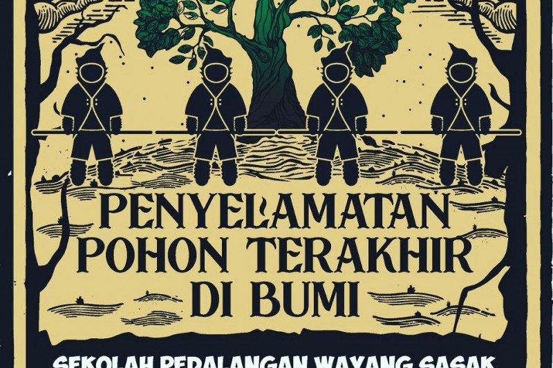 Kisah penyelamatan pohon kehidupan melalui wayang botol